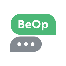 Logo of BeOp, a client of Axelia Partners